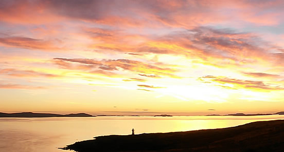 Sunset at Rhue Point
